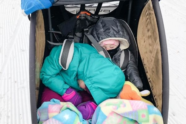 A stroller for all seasons