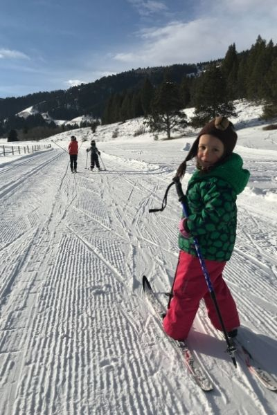cross country skiing for kids