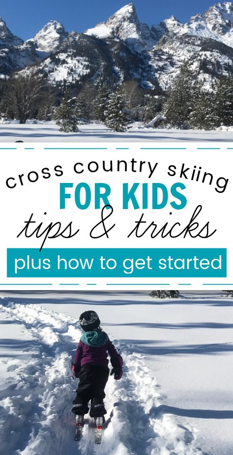 cross country skiing with kids