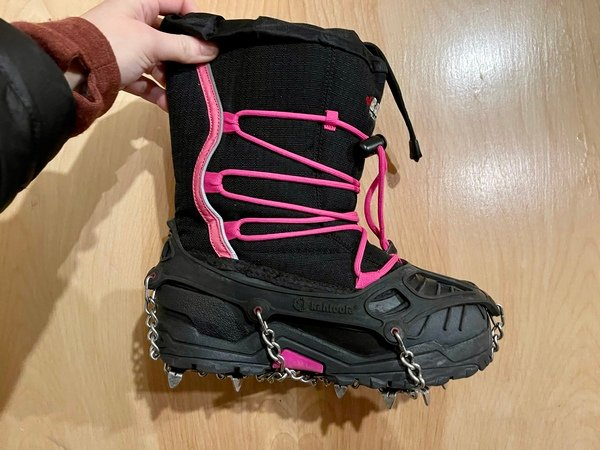 Ice Cleats for Kids and Adults