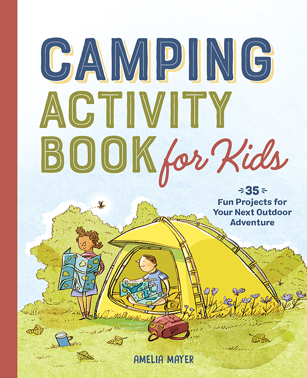Camping Activity Book for Kids