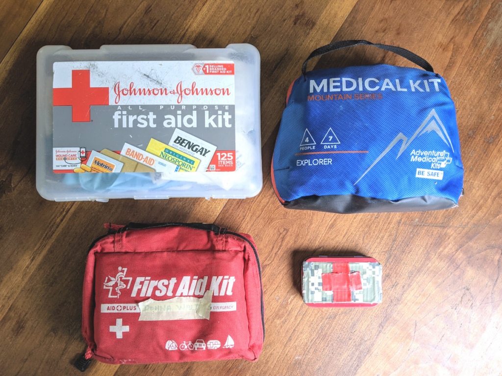 First Aid Kits for the Outdoor Family