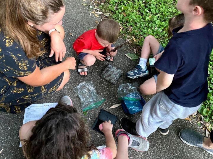 Letterboxing for kids