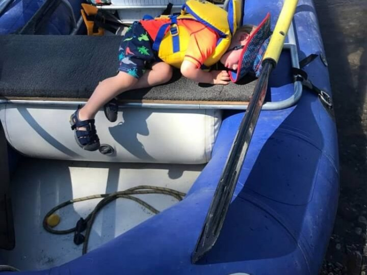 Boating with Babies