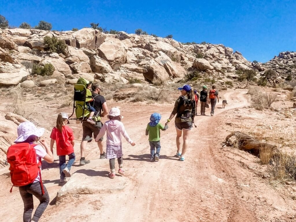 How to hike with kids of differing abilities
