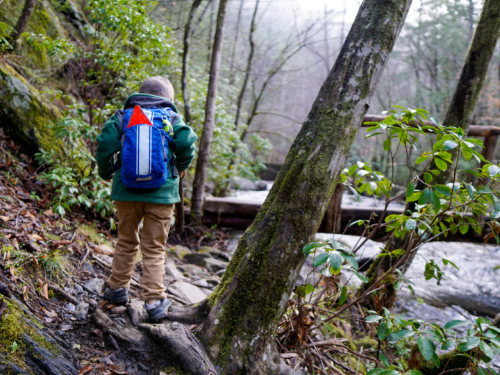 let kids carry their own packs
