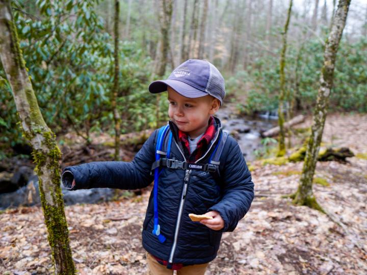 ways to keep kids busy on a hike