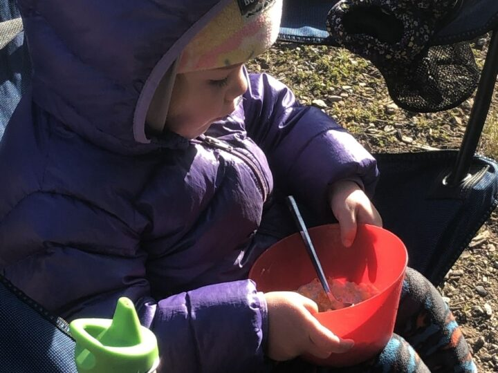 camping homemade instant oatmeal