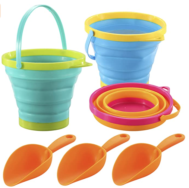 toys for camping buckets