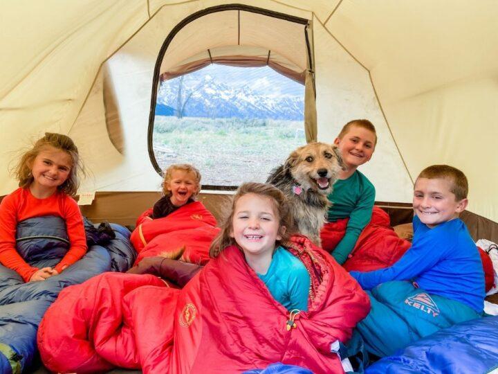 Best family tent Snow Peak Vault