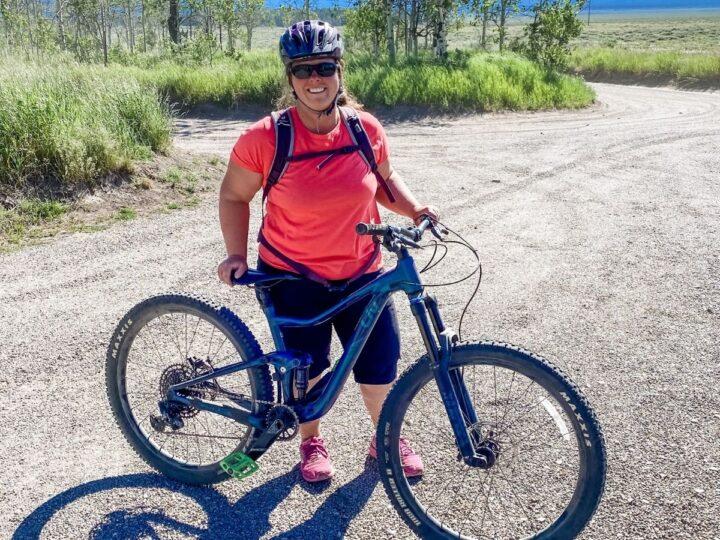 Stio divide for mountain biking