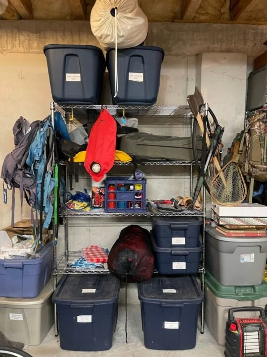 How to organize outdoor gear