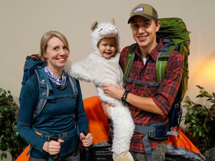 Halloween camping outdoorsy costumes