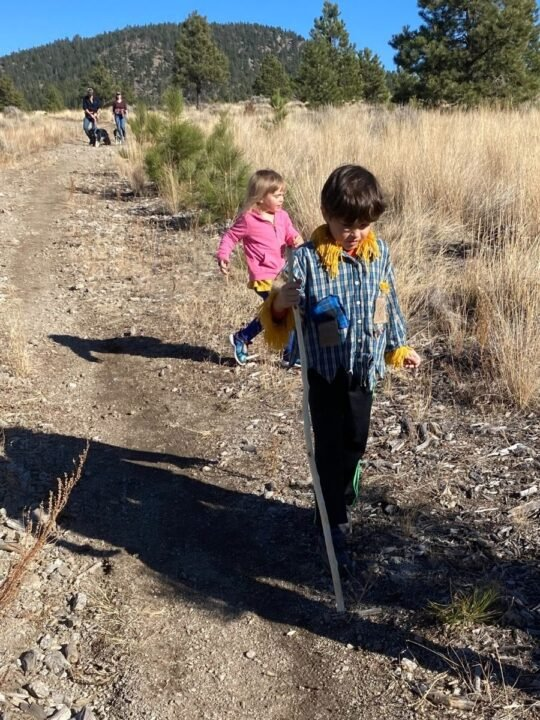 Burn off halloween sugar with a hike