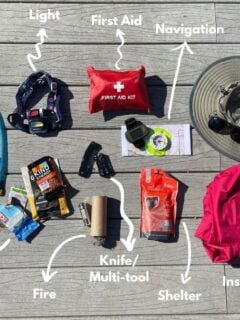 what to pack for hiking with kids